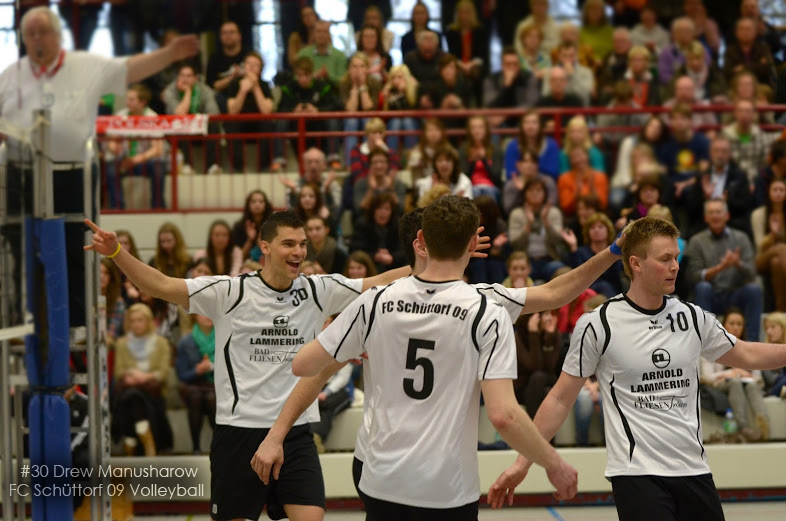 30 Manusharow and  FC Schüttorf 09 Volleyball