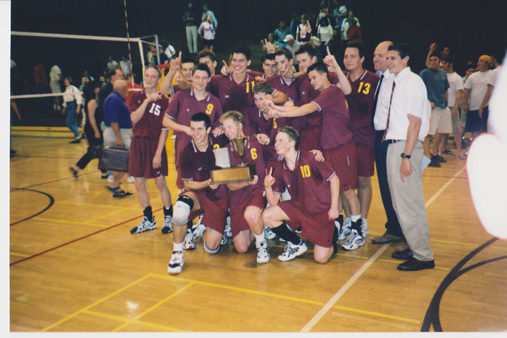 1999 Arizona high school men's volleyball state champions