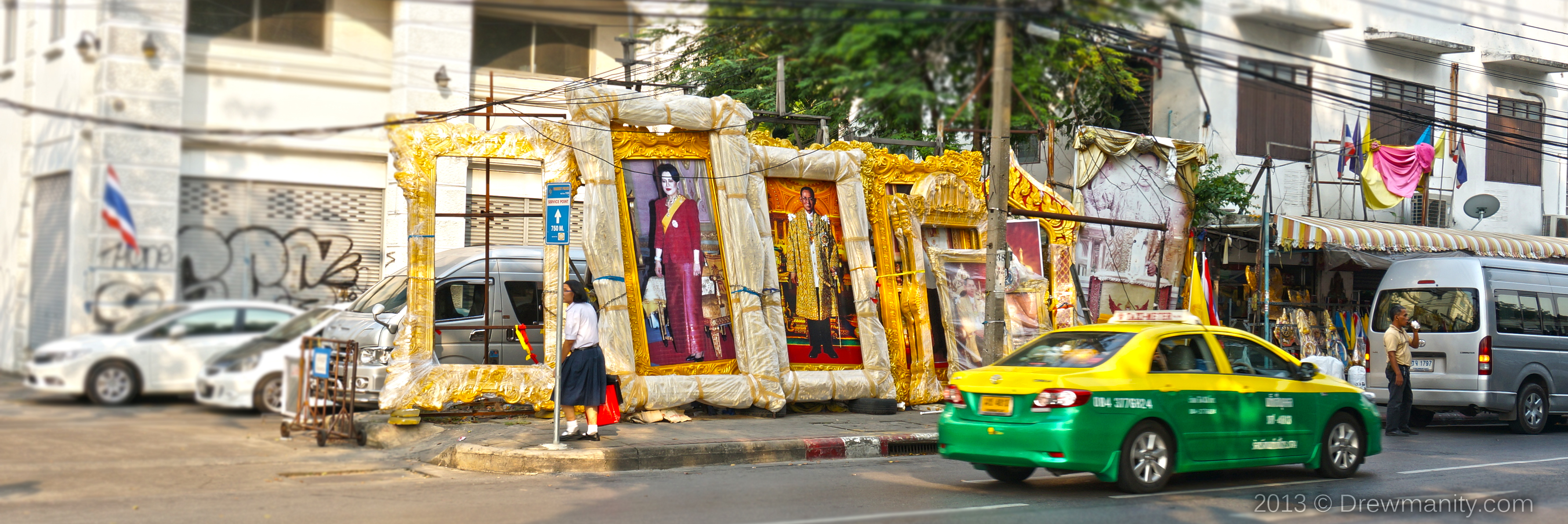 King and queen on thailand in bangkok