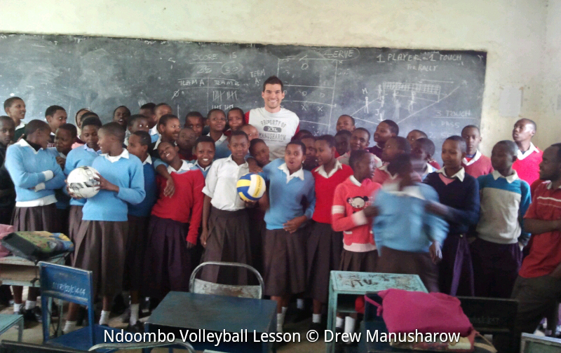 My Arival into Arusha Tanzania was welcomed by smiles in the classroom.