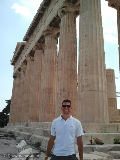 drewmanity at the acropolis-athens greece