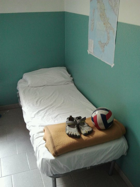 Italy volleyball tryouts bed