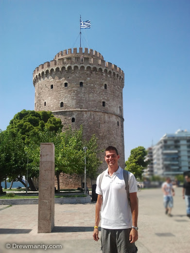 thessaloniki greece white tower