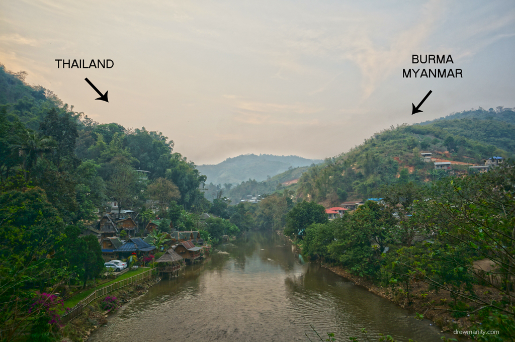 Border of Thailand and Myanmar