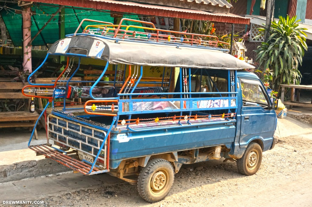 Laos-multi-person-songthaews-taxi-van-transport-drewmanity