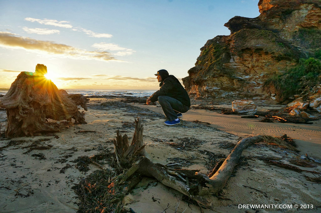 travel-adventure-oz-coast-beach-sunset-photography australia-sunrise-beach-2013-drewmanity.com